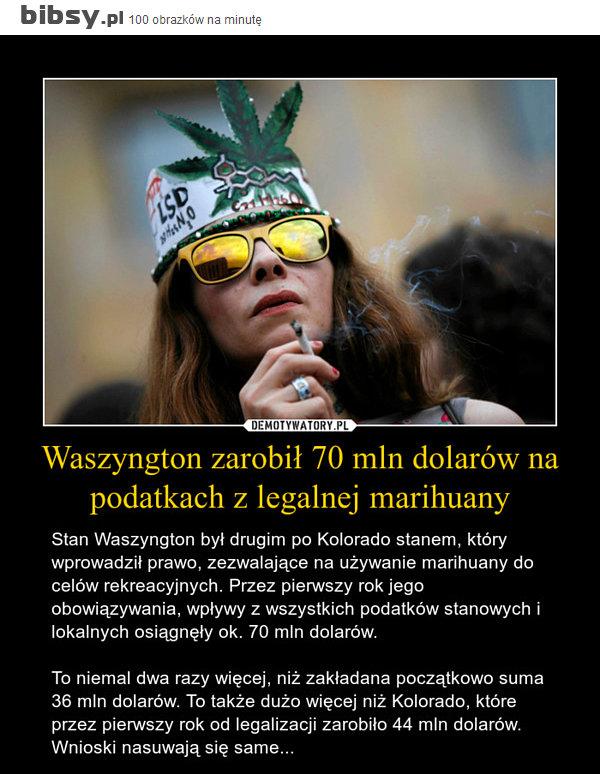 Zarobił 70 mln dolarów na legalizacji marihuany, GrubyLoL.com