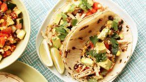 Pieczone warzywa z nasionami konopi w taco, GrubyLoL.com