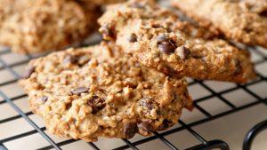 Orzechowo – czekoladowe ciasteczka owsiane z nasionami konopi, GrubyLoL.com