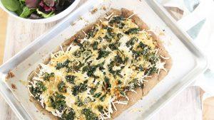 Cebulowo – jarmużowa pizza konopna, GrubyLoL.com