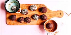 Kulki mocy z konopią i ciemną czekoladą, GrubyLoL.com