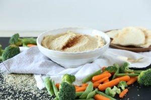 Hummus – pyszny przepis z nasionami konopi, GrubyLoL.com