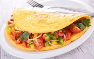 Omlet z nasionami lnu, GrubyLoL.com